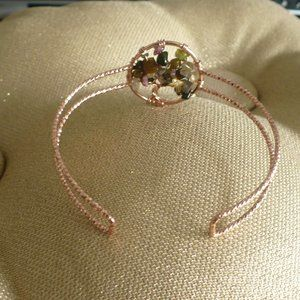 Jewelry - ❤️Multi-Color Chip Tree of Life Rose Gold Bracelet